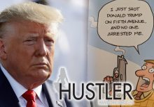 Hustler Magazine sends graphic Christmas card to lawmakers depicting Trump's assassination