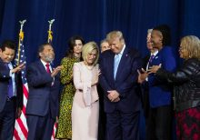 Trump tells evangelicals, 'We have God on our side' for 2020 election; hails end of Soleimani's 'bloody ram...