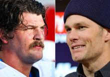 Tennessee Titans' Taylor Lewan trolls Tom Brady after playoff win: 'You wanted hyenas you got f-----g hyenas'
