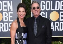 Tim Allen arrives at the Golden Globe Awards after Ricky Gervais admits he regrets making fun of him