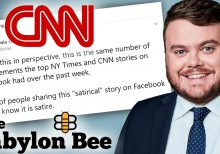 CNN reporter sounds alarm over conservative satirical site, gets pummeled on Twitter