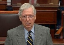 McConnell says he has votes to start impeachment trial without accord on witnesses