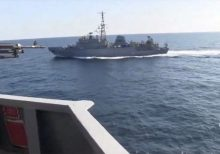 Russian spy ship 'aggressively approached' US destroyer in North Arabian Sea, Navy says