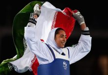 Iranian female Olympian defects, calls out regime's 'hypocrisy' as she exits country permanently
