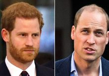 Prince William says he can't 'put my arm around' brother Harry anymore: 'I'm sad about that'
