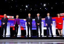 Sanders takes on Biden over Iraq war vote during Democratic debate