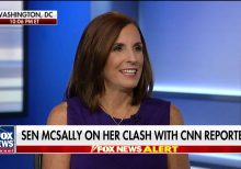 McSally rejects Wolf Blitzer's claim she should apologize for calling CNN reporter 'liberal hack'