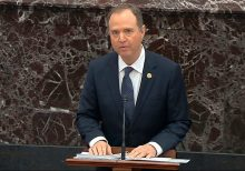 At Senate impeachment trial, restless lawmakers struggle to sit through Schiff's opening argument
