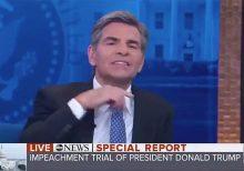 ABC News' George Stephanopoulos cuts short Trump lawyer Q&A with throat-slash gesture