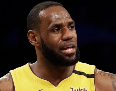 Kobe Bryant dead: LeBron James visibly emotional as he returns to Los Angeles with team