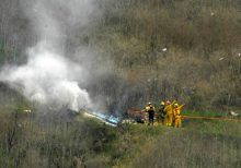 Weather conditions eyed in Kobe Bryant helicopter crash, officials say