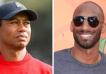 Tiger Woods initially unaware of Kobe Bryant's death as fans shouted 'Do it for Mamba' at him