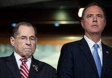 Nadler appears to steal podium from Schiff in viral impeachment moment