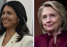 Tulsi Gabbard's $50M lawsuit against Hillary Clinton moving forward after Clinton's lawyer accepts legal do...