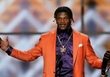 Lamar Jackson named NFL's MVP, joins Tom Brady as only unanimous selections