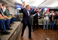 John Kerry, in now-deleted expletive-laced tweet, addresses report he was overheard planning 2020 run