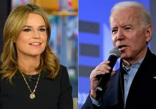 Joe Biden scolds Savannah Guthrie about Hunter question: 'You do not know what you're talking about'