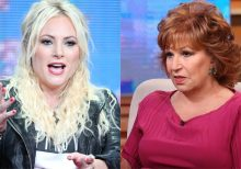 Meghan McCain shuts down Joy Behar's 'pipe dream' that Trump will go 'completely nuts' during SOTU