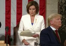 Nancy Pelosi rips Trump's State of the Union address, sparking huge reactions