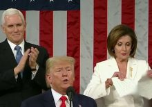 Pelosi's burns: From SOTU tear to title snub, speaker throws shade at Trump throughout address