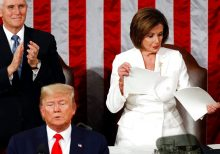 Pelosi, Trump clash on morning after impeachment verdict