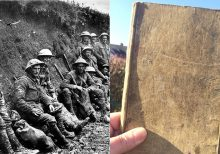 Diary from World War I discovered in barn, recounts bloody Battle of the Somme