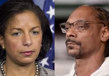 Susan Rice tells Snoop Dogg to 'back the **** off' Gayle King after rapper's profane video; he later denies...