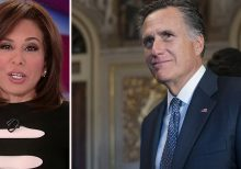 Jeanine Pirro to Mitt Romney: 'How about you get the hell out of the United States Senate?'