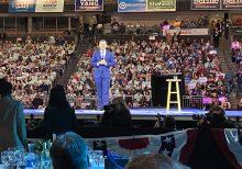 Buttigieg, Sanders supporters trade jeers --