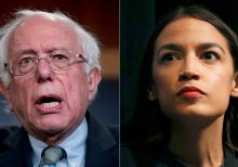 Bernie Sanders camp blasted AOC's Iowa rally performance last month, report says