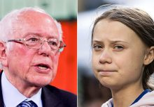 Russian pranksters say they fooled Bernie Sanders by posing as Greta Thunberg