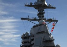 Navy preps its new USS Ford carrier for massive ocean warfare