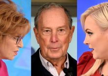 McCain, Behar clash over Bloomberg: It's 'none of your business' who I vote for!