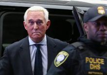 Judge takes firm approach toward Roger Stone ahead of sentencing