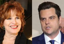Matt Gaetz clashes with Joy Behar, asks if she's mourning death of political left as 'Venezuela wing' takes...