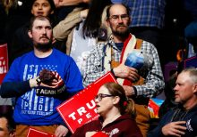 Trump, energized after Dems' debate melee, takes rally blitz to Colorado