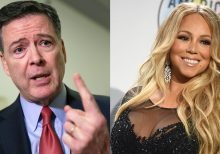 James Comey responds to Trump with Mariah Carey GIF: 'Why are you so obsessed with me?'