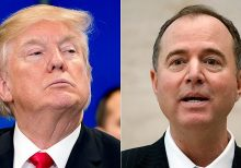 Trump, Schiff spar ahead of Nevada caucuses over claim Russians trying to help Bernie Sanders