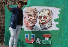 Trump, Melania visit famed Taj Mahal after speech in Ahmadabad