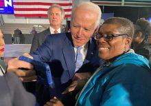 Biden touts landslide victory in South Carolina, swipes at Sanders 'revolution'
