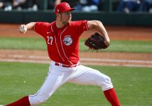 Reds' pitcher Trevor Bauer signaled next pitch to Dodger batter during preseason game