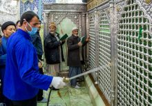 Iran men who licked holy shrine face prison, flogging, as troops ordered to fight coronavirus outbreak