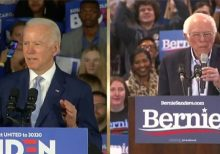 Biden projected to win Virginia and North Carolina, Sanders claims victory in home-state Vermont
