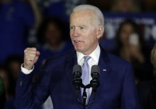 Biden's Super Tuesday bounce back gives stock futures lift