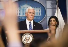 Pence promises coronavirus testing will be covered by private insurance, Medicare