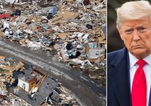 Trump visiting Tennessee after deadly tornadoes