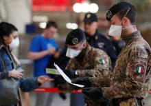 Italy expands travel restrictions to cover whole country as coronavirus outbreak worsens
