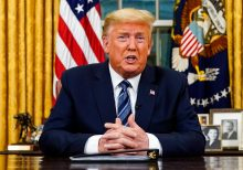 Trump announces travel ban from Europe amid growing fears of coronavirus