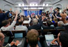 Member of press corps turned away after temperature check at White House