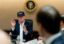 President Trump reveals he took coronavirus test